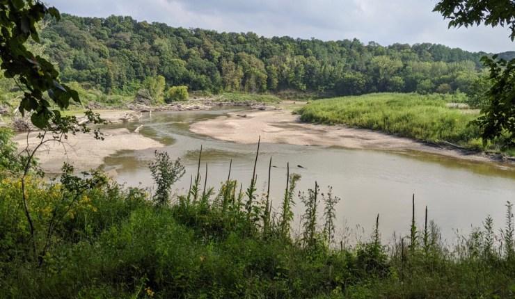 the Minnesota River in New Ulm