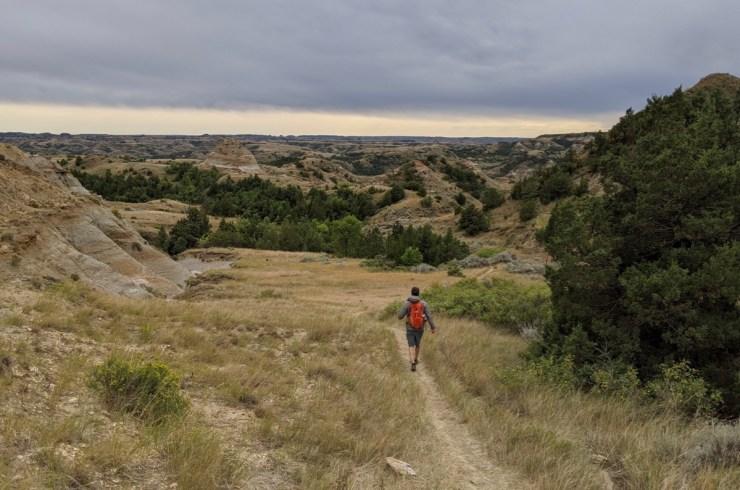 hiking big plateau loop trnp