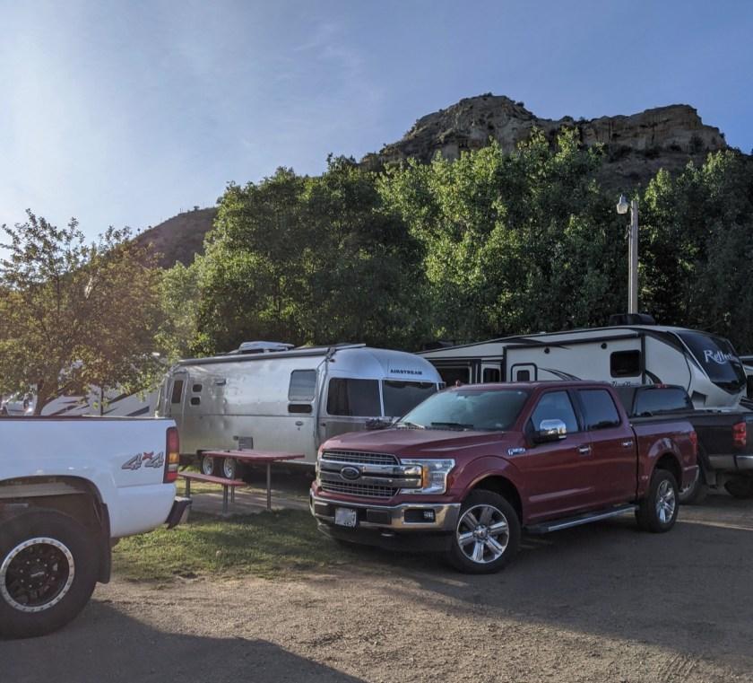 red trail campground medora