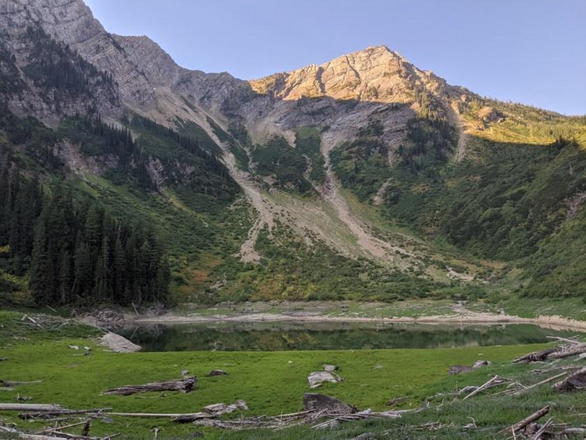 skiumah lake, flathead national forest