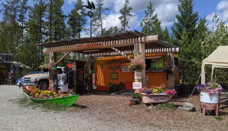 Wander Gringo food truck in West Glacier