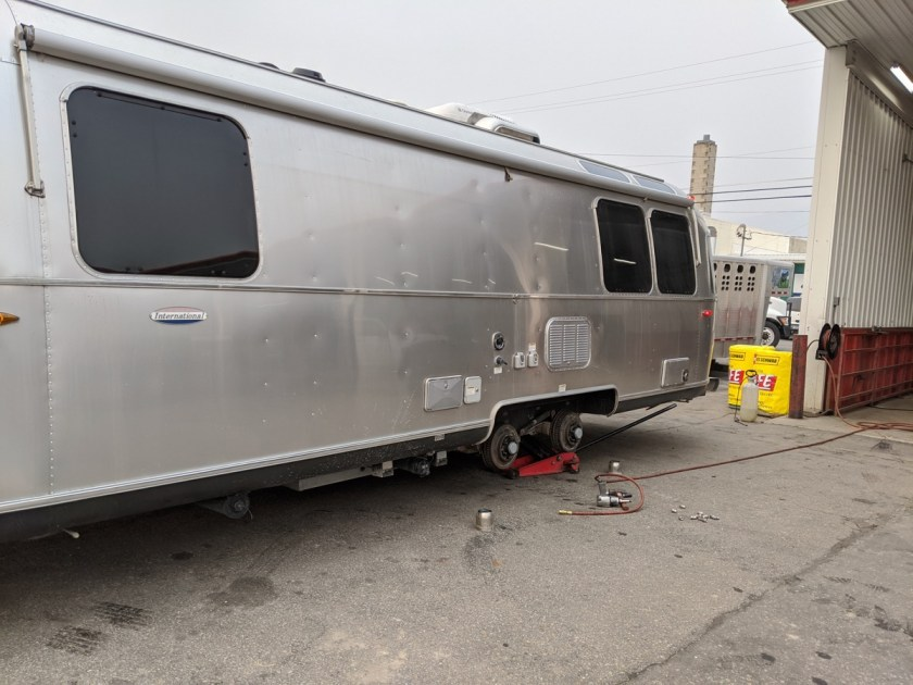 airstream getting new tires