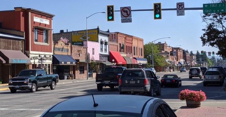 downtown kalispell