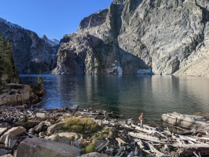 Goat Lake in the Sawtooths