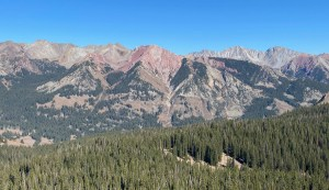 the overlook from Trail 403