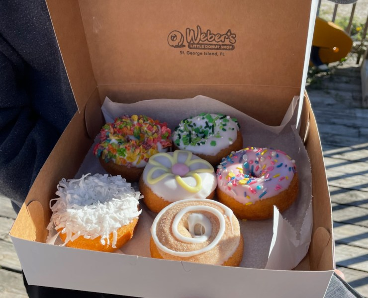 delicious Weber's donuts