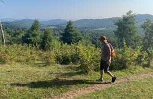 Black Ridge Trail in Floyd