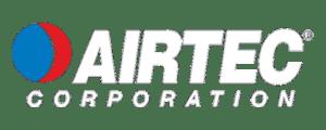 Airtec logo in white