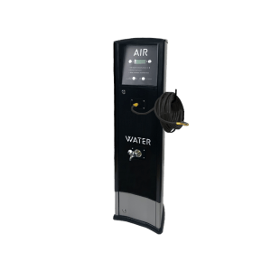 FRP Freestanding inflator with compressor and tap Foodary service station