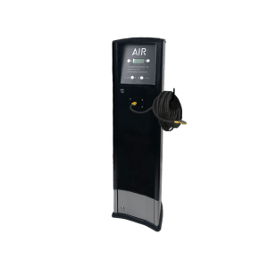 FRP Freestanding inflator with compressor Foodary service station