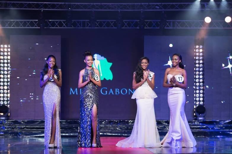 The Gabon Beauties on Stage