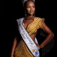 Miss South Africa 2020 Shudufhadzo Musida in Hot Skimpy Bikini Pictures
