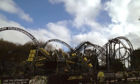 The Smiler in Alton Towers