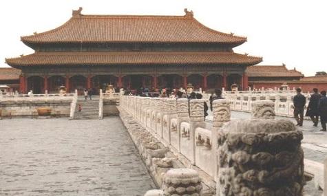 Auch der Kaiserpalast könnte Ziel der australischen Kopierbegierde werden