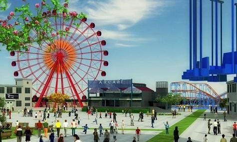 So soll es einmal aussehen, das neue Wonderland in Sydney.