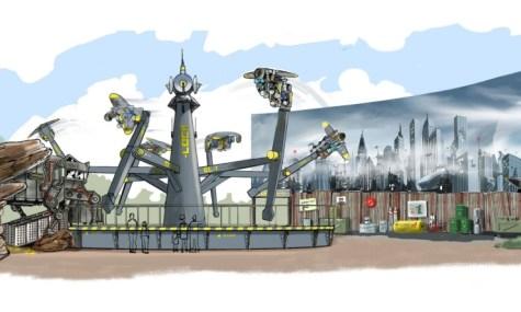 Das Artwork zur neuen Thrill-Maschine - Anklicken zum Vergrößern!