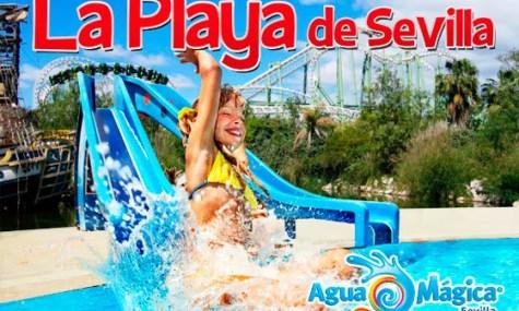 """Auch wenn es hier vorerst etwas """"unthematisiert"""" aussieht: Der Strand Sevillas eröffnet im Juni 2014"""