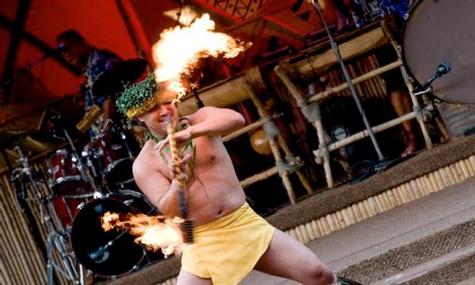 Traditionelle Plynesische Tänze können bewunert werden