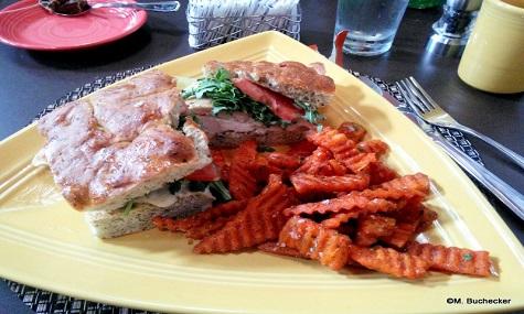 Der große Star im Las Ventanas ist das Sandwich