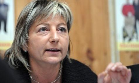 Natacha Bouchart, die Bürgermeisterin von Calais, hat Einiges gegen das Spyland einzuwenden.