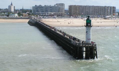 Der Ort des Geschehens - Calais, an der Straße von Dover gelegen.