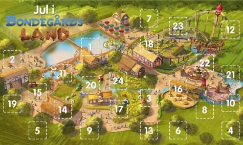 Hier wird die Neuheit 2015 zur Adventskalenderaktion: Djurs Sommerland