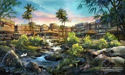 Auch die Grünanlagen des Hotels können überzeugen - Anklicken zum Vergrößern!