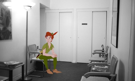 Peter Pan beim Psychologen?