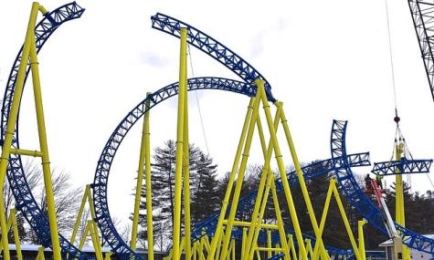 Die fast fertige Cobra Roll