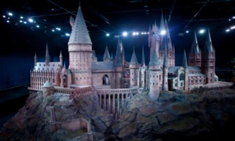 Das Modell des Hogwarts Castle