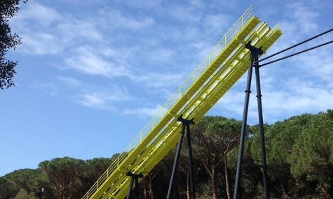 Frischlackiert wird Freestyle derzeit in Italien aufgebaut - Anklicken zum Vergrößern!