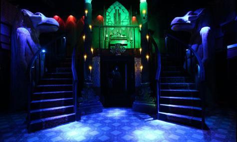 Das Foyer im Geisterhaus
