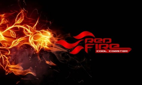 Das Logo von Red Fire: Cool Coaster - Anklicken zum Vergrößern!