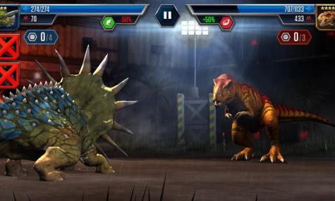 Die Kämpfe sind die wichtigsten Bestandteile des Spiels - Anklicken zum Vergrößern!