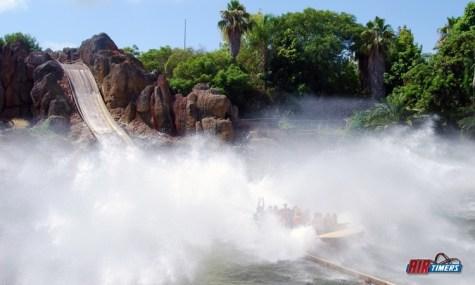 So kann ein Splash aussehen - Tutuki Splash im PortAventura