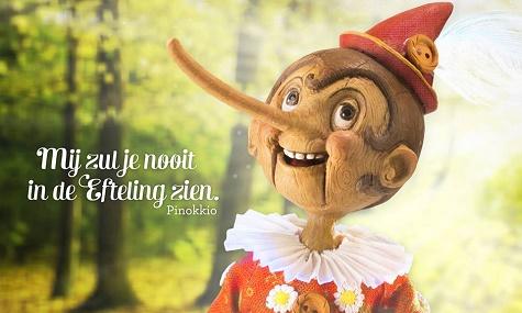 Das erste Werbeplakat von Efteling zum neuen Märchen - Artworks gibt es noch nicht.