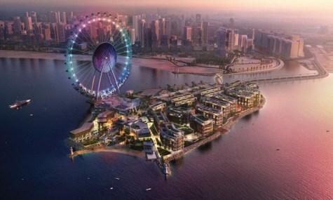 Dubai Eye Ferris Wheel - Noch eine Animation, in einigen Monaten neuer Rekordhalter