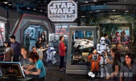 Das Star Wars Launch Bay - Ein Paradis für Star Wars Fans!