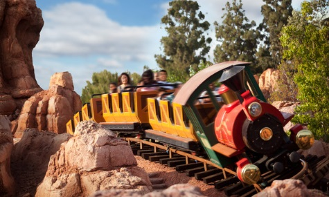 Big Thunder Mountain Railroad in Ahaheim