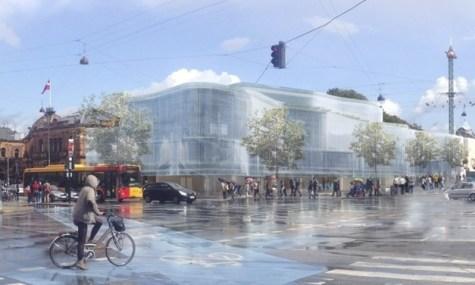 So wird der Tivoli Food Court später aussehen - Anklicken zum Vergrößern!
