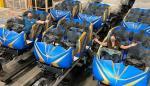 Disney präsentiert Züge für Guardians of the Galaxy Achterbahn