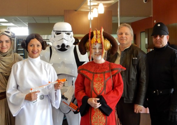 Chris Whitten as Queen Amidala with Healing Little Heroes Foundation at San Diego Children's Hospital