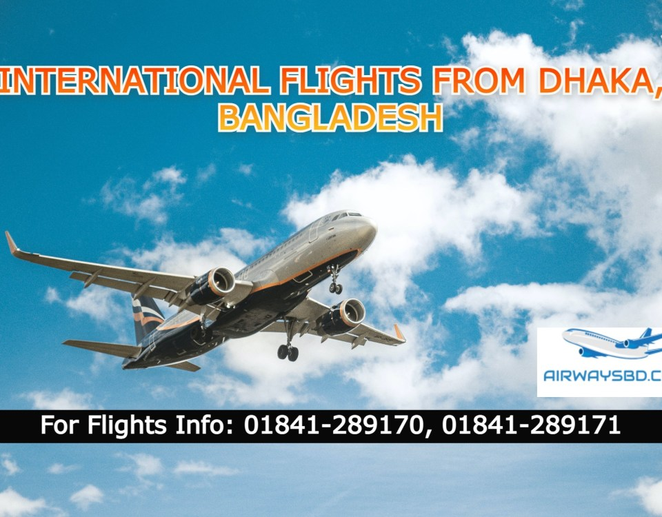 Flights from Dhaka