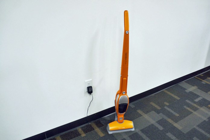 Vacuum cleaners are scattered about Spirit's offices. (Credits: Author)