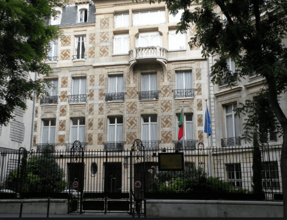PORTUGUESE EMBASSIES AND CONSULATES