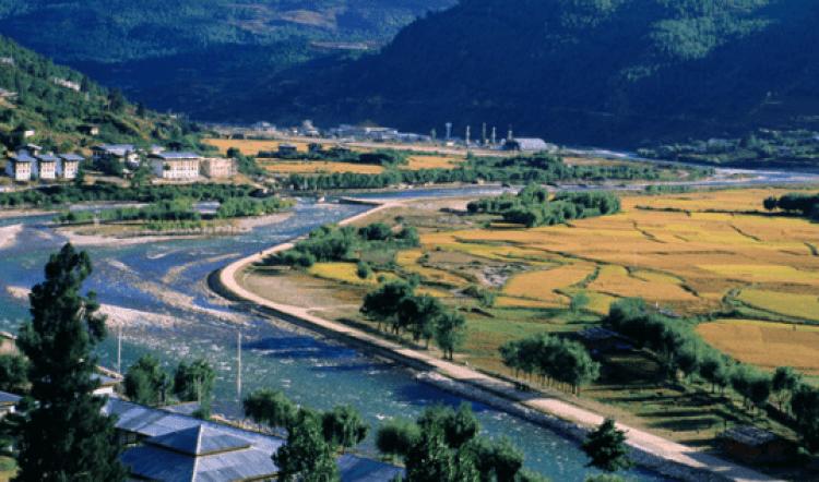 Top place in Bhutan ,Gangtey Valley