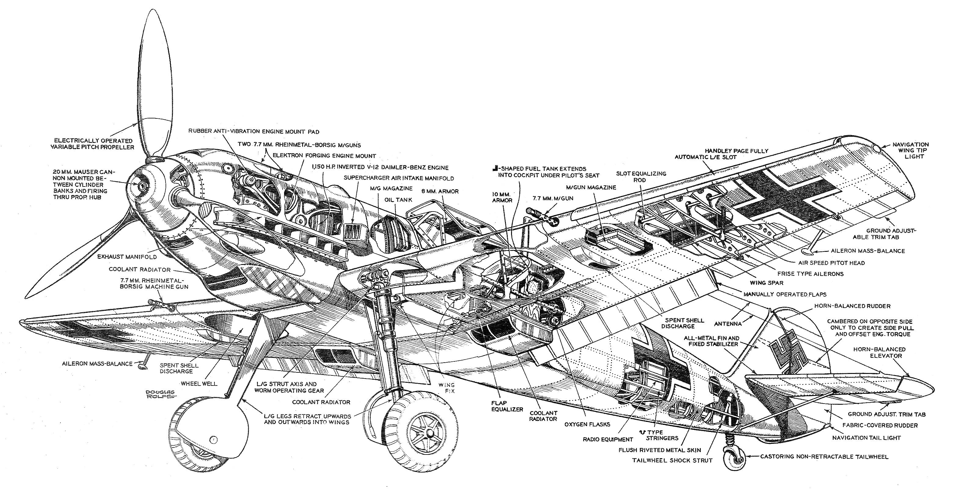 Messerschmitt Me 109 Ebook Aircraft Flight Manuals