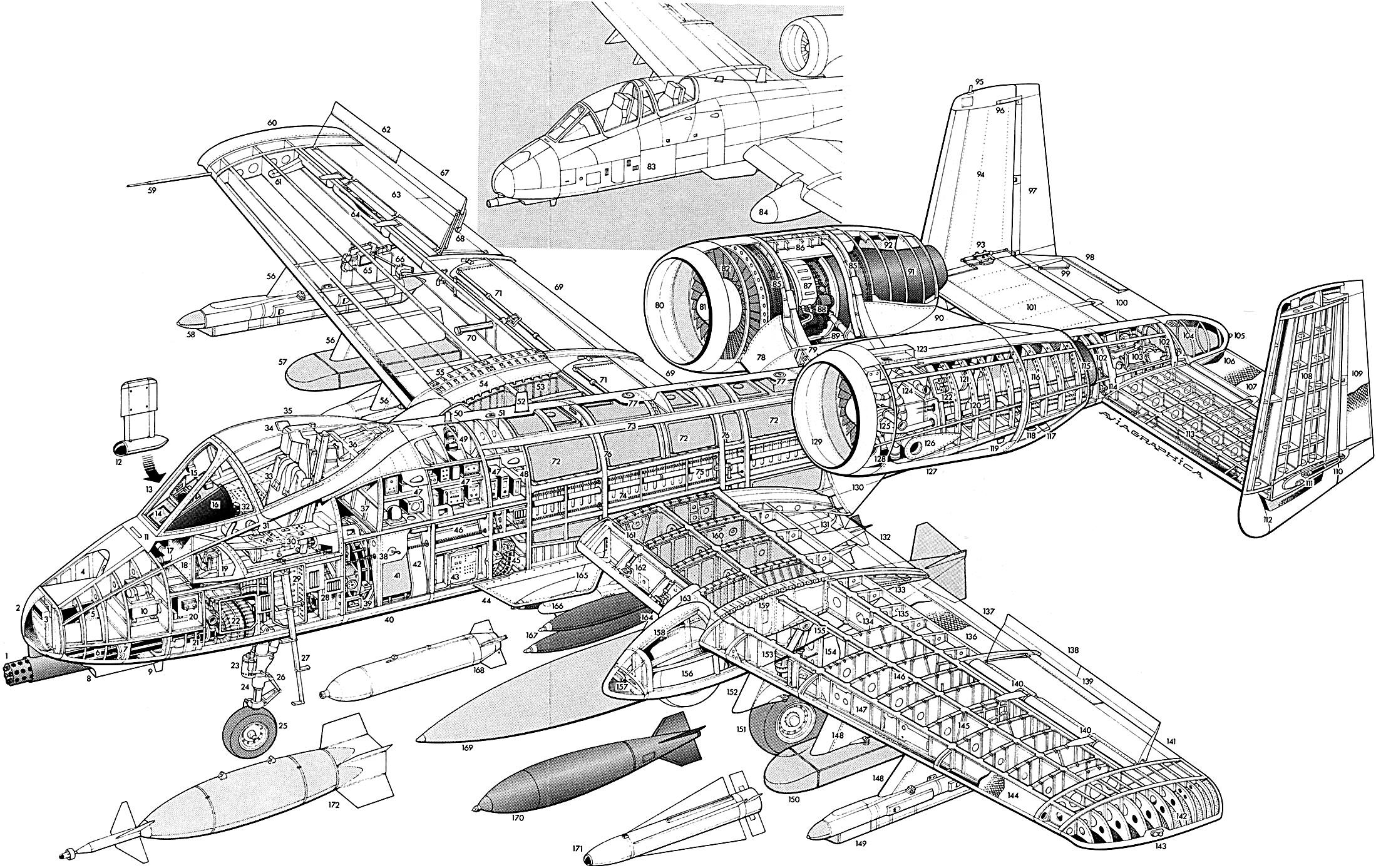 Fairchild Republic A 10 Thunderbolt Ii Ebook Amp Manuals