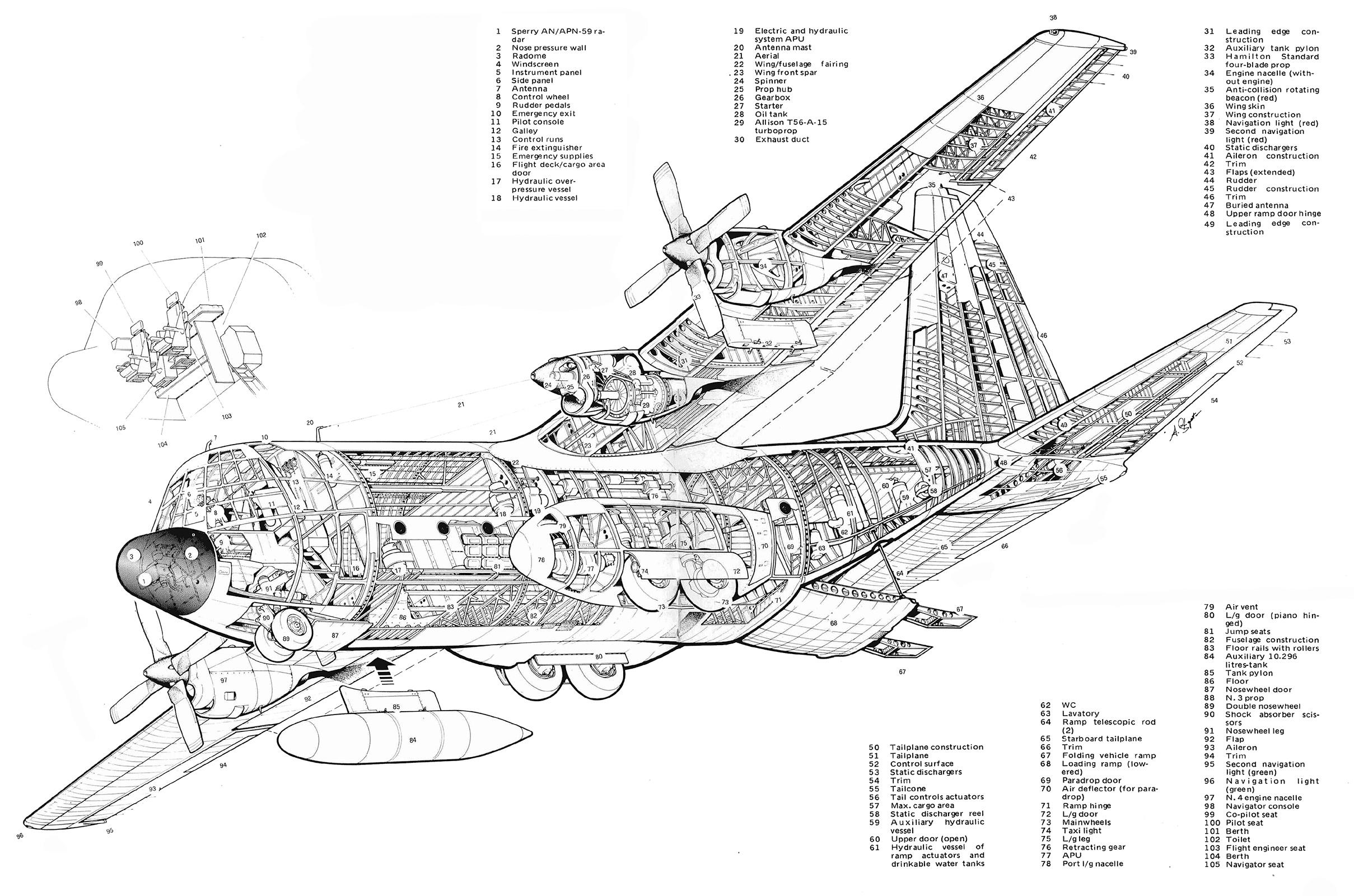 Lockheed C 130 Hercules Ebook Aircraft Flight