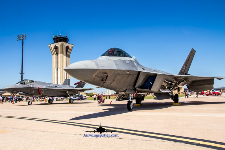 Photo Our 5th Generation F-22A from Tyndall AFB and F-35A from 61st FS Top Dogs